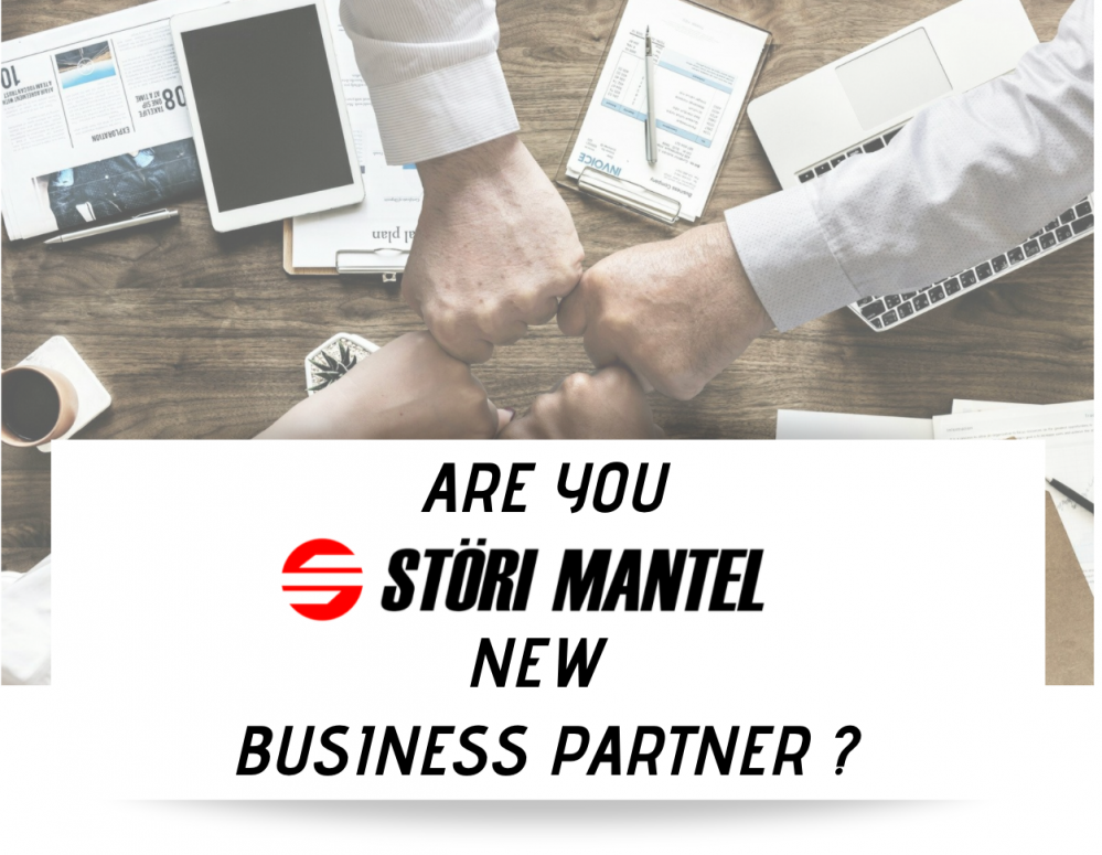 Are you our new business partner? The right time to join our partner representation is now!