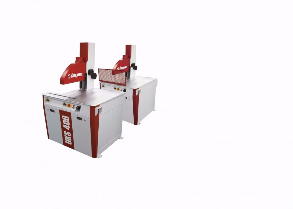 Under the table cross cut saw UKS 400/700/850/1000/1000 MAX